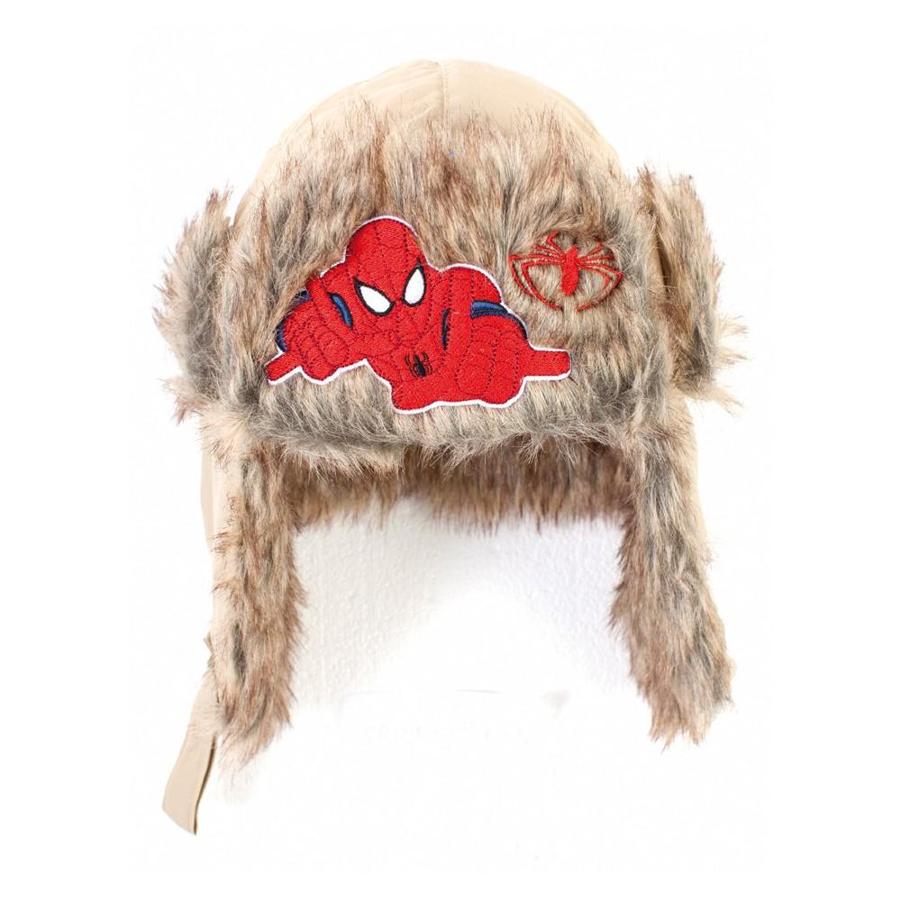 chapka fourr e gar on spiderman brod e. Black Bedroom Furniture Sets. Home Design Ideas