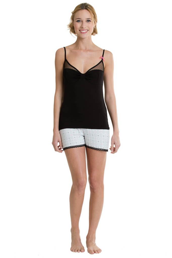 pyjama court femme ebay. Black Bedroom Furniture Sets. Home Design Ideas