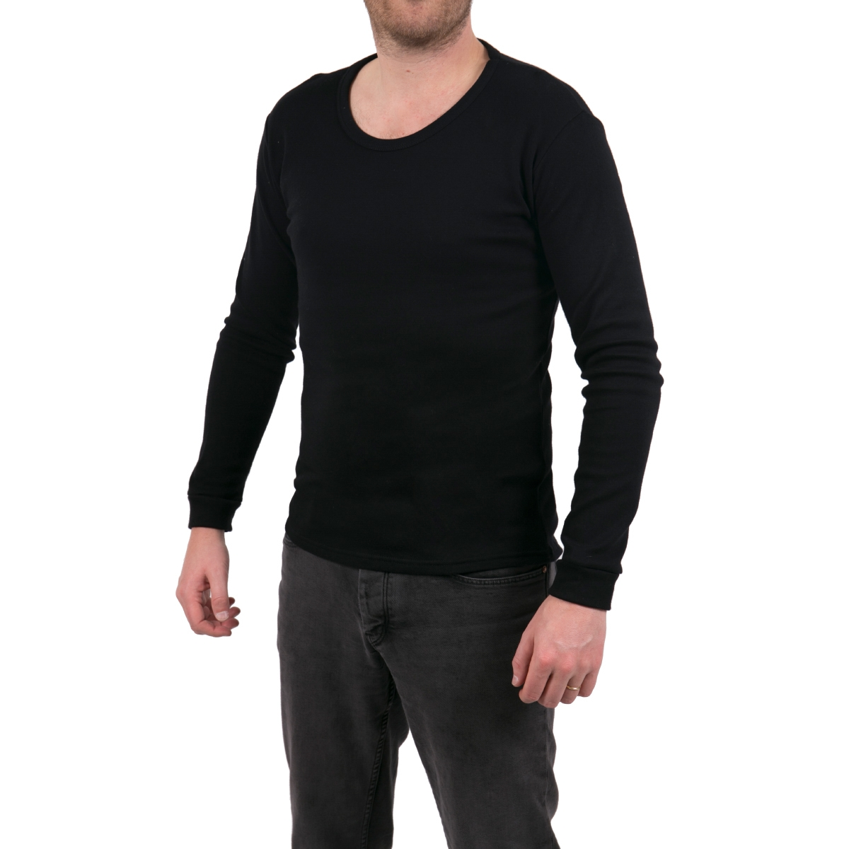 t shirts thermal manches longues homme ebay. Black Bedroom Furniture Sets. Home Design Ideas