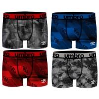 Boxer homme UMBRO en microfibre Confort et Qualité -Assortiment modèles photos selon arrivages-