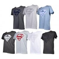 T shirt homme Licence Superhéros: Superman, Batman, Avengers..- Assortiment modèles photos selon arrivages-