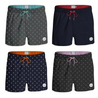 Short de Bain flottant HOMME YACHT NAUTIC CLUB fantaisie