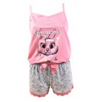 Pyjama Femme BAMBI en Coton -Chaleur,Douceur et Confort-