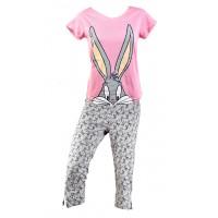 Pyjama Femme LOONEY TUNES en Coton -Chaleur,Douceur et Confort-
