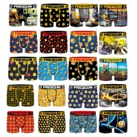 Boxer FREEGUN Enfant fgp80 SMILEY -Assortiment modèles photos selon arrivages-