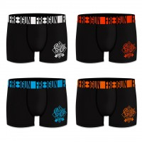 Boxer FREEGUN Enfant Uni en Microfibre Soft Touch -Assortiment modèles photos selon arrivages-