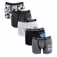 Boxer homme ROUTE 66 Confort et Qualité -Assortiment modèles photos selon arrivages-