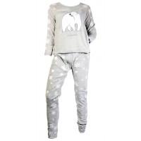 Pyjama Femme USHUAIA en Coton -Chaleur,Douceur et Confort-