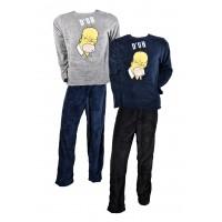 Pyjama Homme THE SIMPSONS en Coton -Chaleur, Douceur et confort-