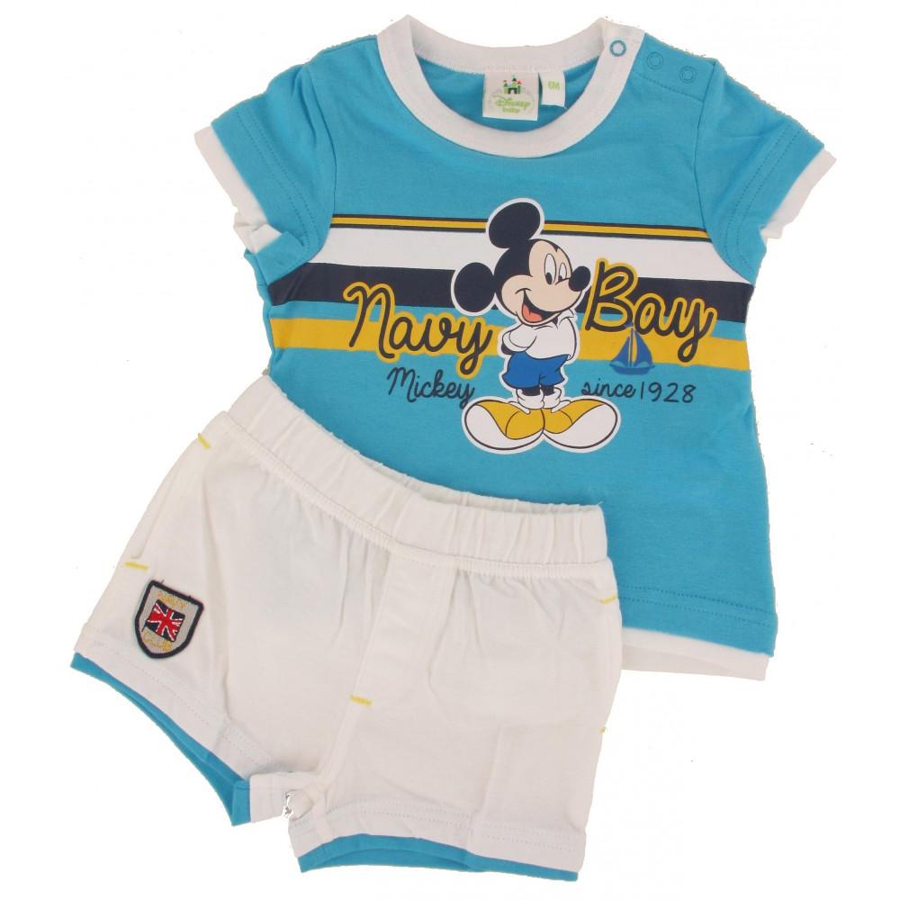 Ensemble T-shirt et Short Bébé Disney