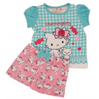 Ensemble T-shirt et Short Bébé Charmy Kitty