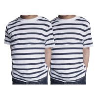 T shirts Enfant Lot de 2 Marinieres Ozabi Basic