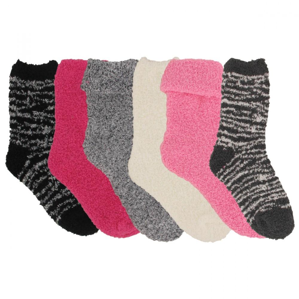 Chaussettes douces antidérapantes enfant garçon doudou tête 3D lot de 3 paires ddeyl