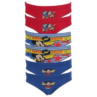 Slips Enfant Lot de 6 Mickey