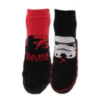Chaussons chaussettes lot de 2 STAR WARS