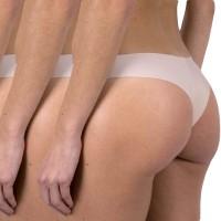 Culottes brésiliennes microfibre Lot de 3 Femme