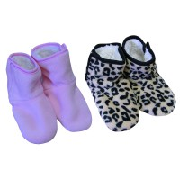 Chaussons Bottines Doux enfant fille Lot de 2