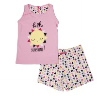 Ensemble pyjama short Fille