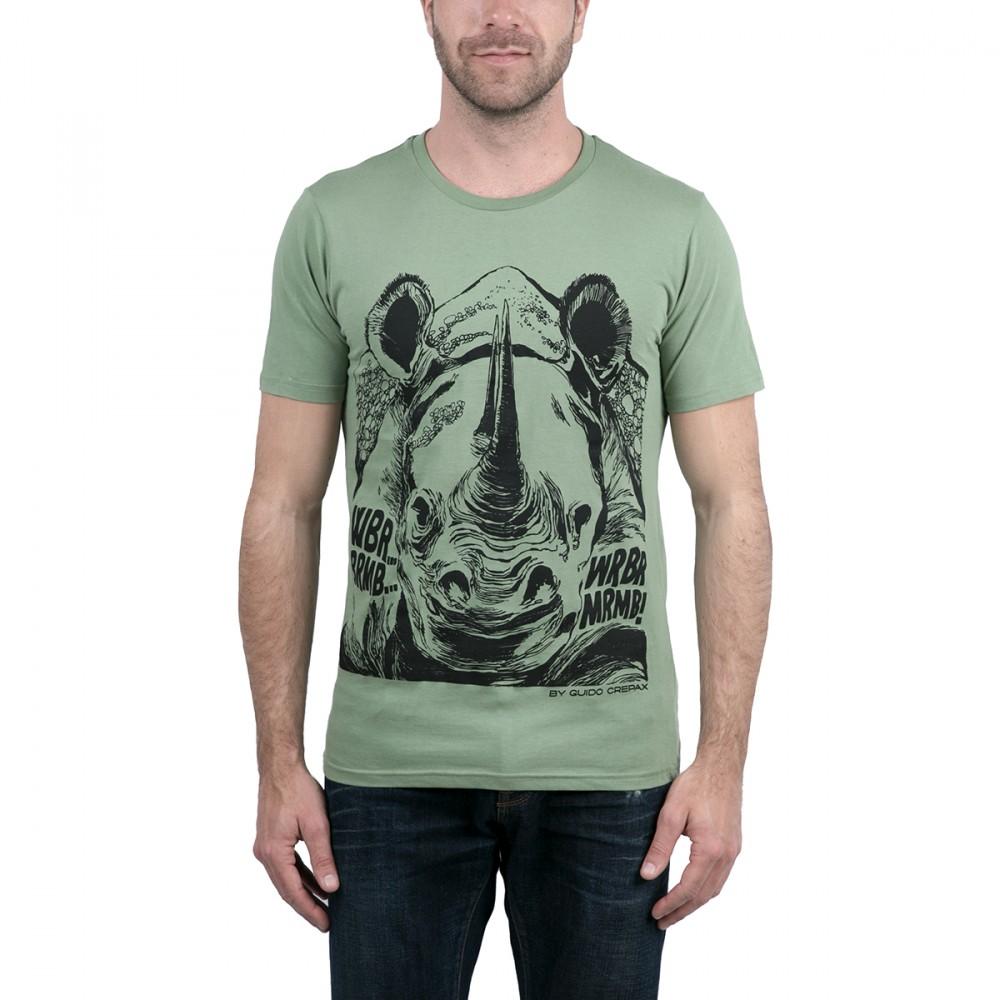 T shirt homme imprimé Valentina col rond manches courtes dc2af4f20684