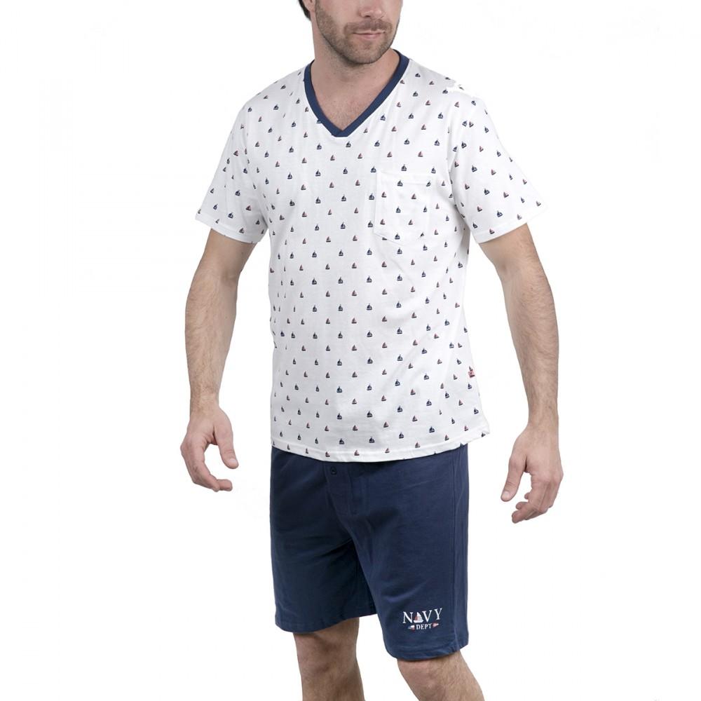 Ensemble pyjama short homme