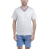 Ensemble pyjama short homme