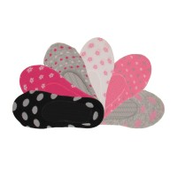 Chaussettes invisibles fille lot de 6