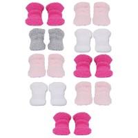 Chaussettes douces bébé lot de 9