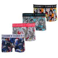 Boxers Looney Tunes garçon lot de 4