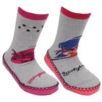 Chaussons chaussettes lot de 2 Zag Heroez
