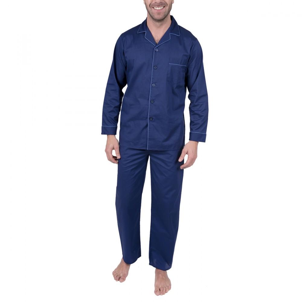 Ensemble pyjama homme boutonné