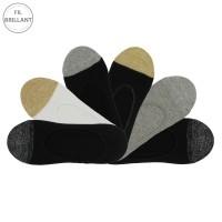 Chaussettes invisibles brillantes femme lot de 6