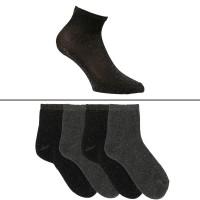 Chaussettes courtes à paillettes femme lot de 4