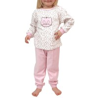 Ensemble pyjama polaire long fille