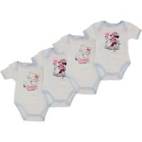 Body Bébé Lot de 4 Disney et Charmy Kitty