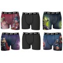 Boxer homme  Marvel, Avengers, Justice League -Assortiment modèles photos selon arrivages-