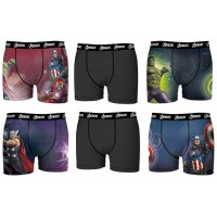Boxers Homme Marvel Avengers Justice League Act3