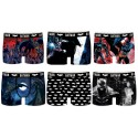 Boxers homme  Batman,Dc Comics -Assortiment modèles photos selon arrivages-
