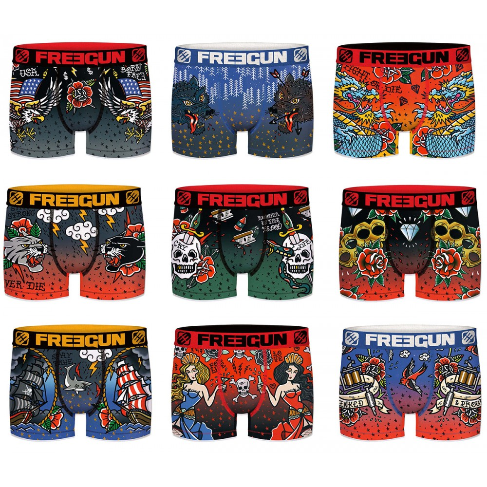 Boxers Freegun homme act67