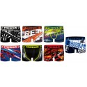 Boxer FREEGUN Homme Act65 Moto Gp Racing en microfibre -Assortiment modèles photos selon arrivages-