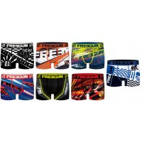 Boxer FREEGUN Enfant Act65 Moto Gp Racing . en Microfibre -Assortiment modèles photos selon arrivages-