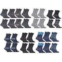 Chaussettes homme DIM en Coton Confort et Elegance -Assortiment modèles photos selon arrivages-