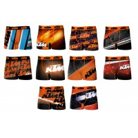 Boxer Enfant KTM Racing en Microfibre -Assortiment modèles photos selon arrivages-