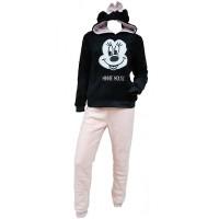 Pyjama Femme MINNIE, Disney en Coton -Chaleur,Douceur et Confort-