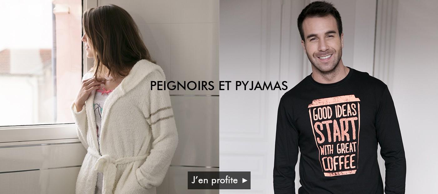 Pyjamas et peignoirs pour homme et pour femme